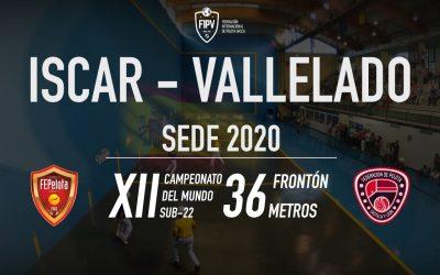 Designada la sede del Campeonato del Mundo Sub-22 Frontón 36 metros
