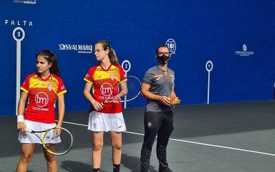 España, clasificada para las semifinales del frontenis femenino en la Copa del Mundo