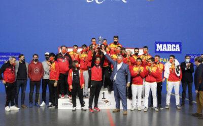 España se corona campeona del Mundo de Pelota sub 23 en 36 metros